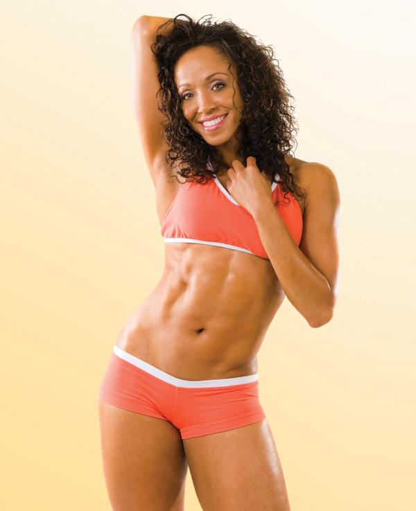 Celebrity fitness expert Basheerah Ahmad