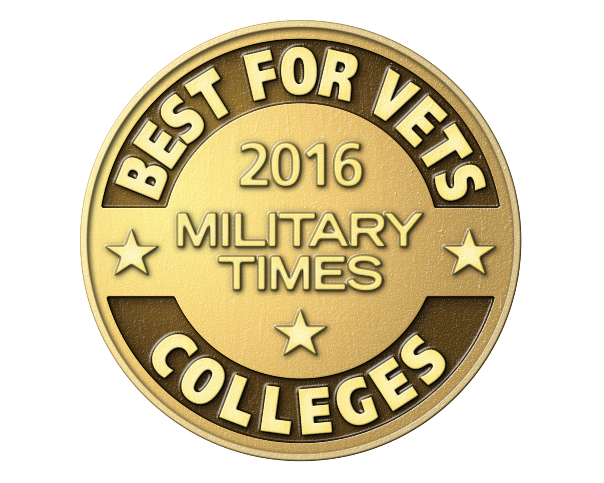 "The University of Central Oklahoma has been recognized as a top school for student veterans and active military, ranking No. 43 among all surveyed four-year colleges and universities in the U.S. on the The Military Times' just-released 2016 ""Best for Vets: Colleges"" list, and as a ""Military Friendly School"" for the fourth consecutive year."