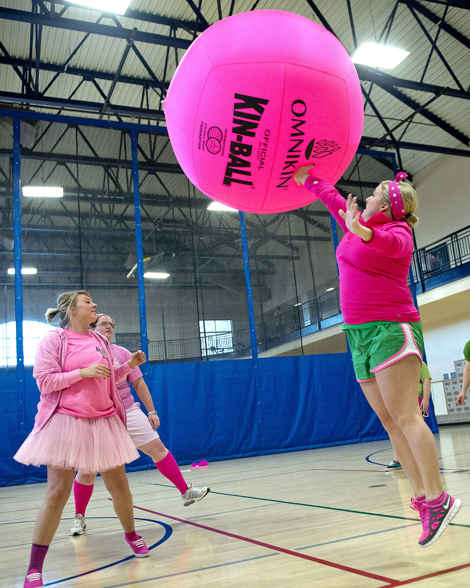 The Big Pink Volleyball Tournament returns to the UCO Wellness Center Feb. 24-27. Teams of 6-10 players may register online at www.uco.edu/bigpink through 5 p.m. Feb. 19. All proceeds benefit Susan G. Komen Central and Western Oklahoma.