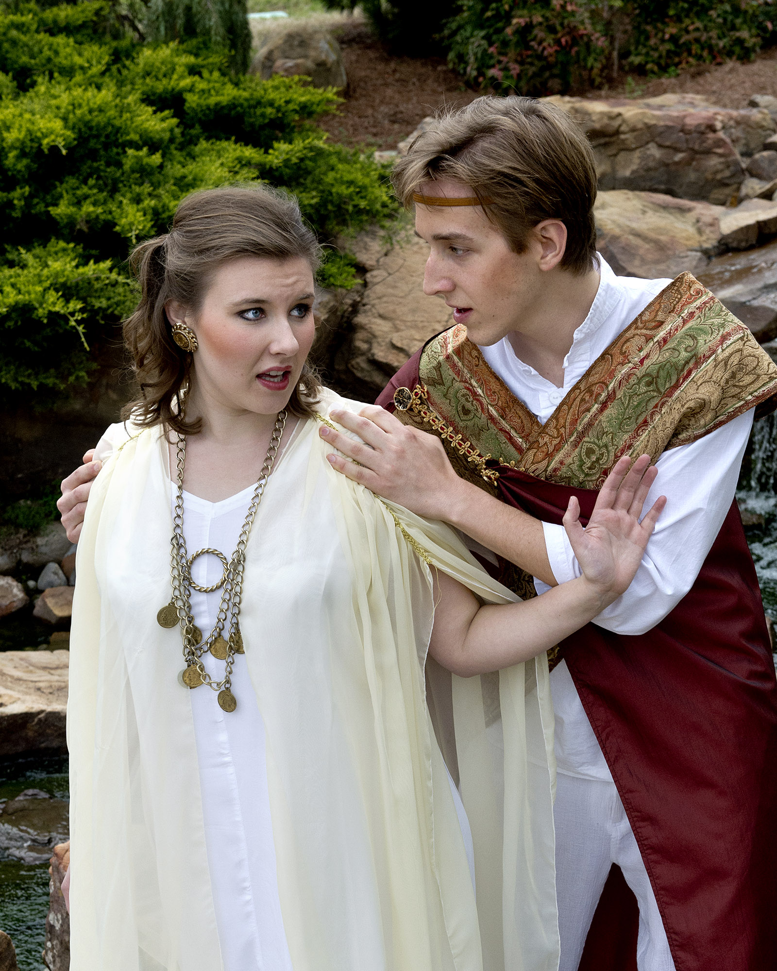 "UCO will present ""Dido and Aeneas"" April 25-28 at UCO's Mitchell Hall Theater.  Central students Emerald Lessley playing ""Dido"" and Griffin LaVictoire playing ""Aeneas"" will be featured in the production."