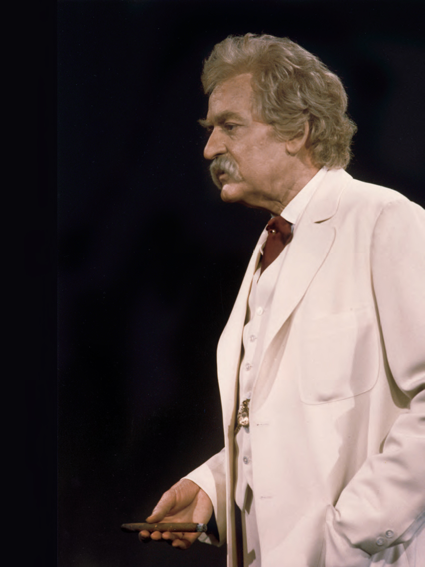 "Tony and Emmy Award-winner Hal Holbrook will perform his critically acclaimed one-man performance ""Mark Twain Tonight"" 7:30 p.m. Jan. 24 at Mitchell Hall Theater, located on Central's campus."