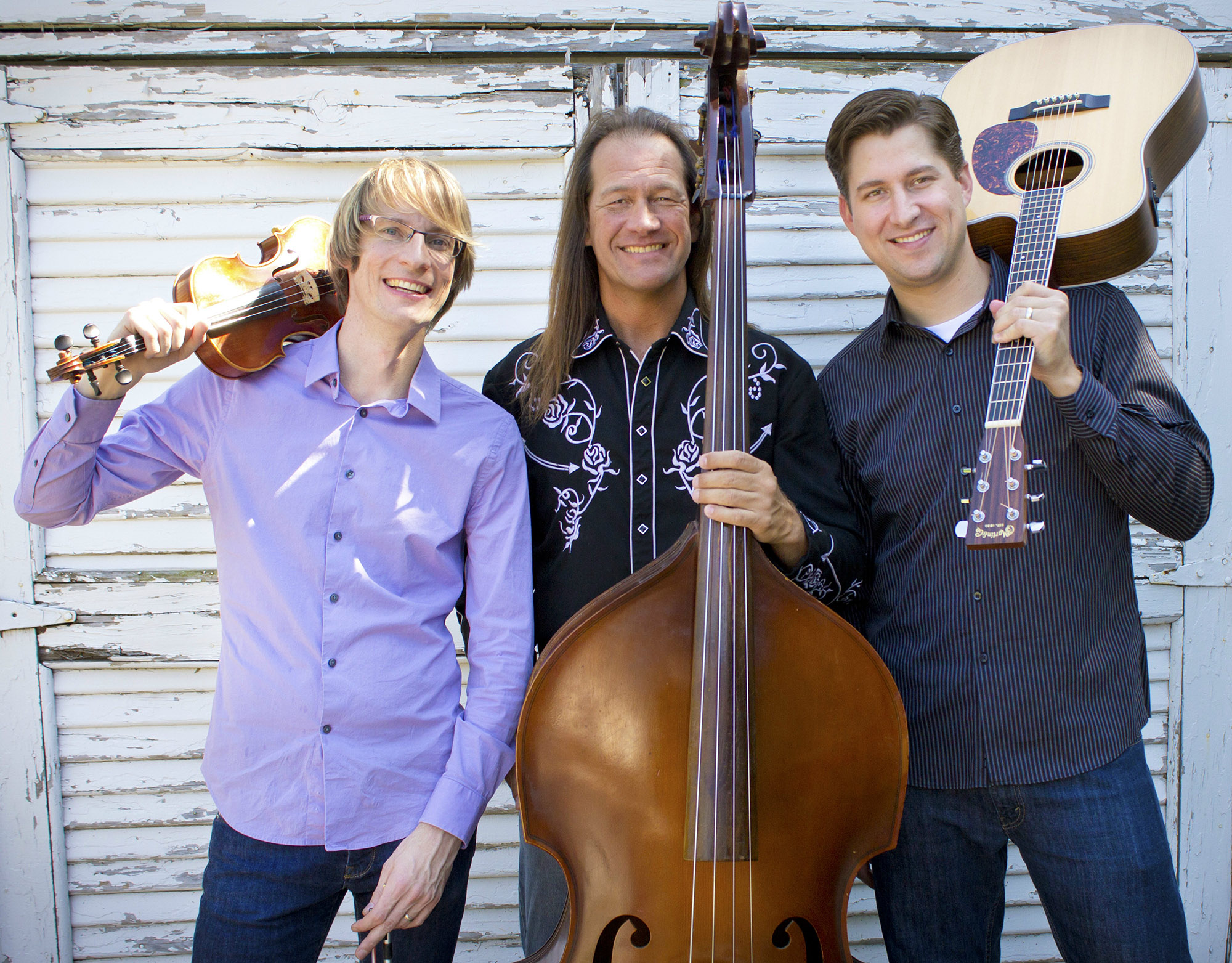 Horseshoe Road, a trio of (left to right) Kyle Dillingham, Brent Saulsbury and Peter Markes, was selected from over 300 groups nationwide to go on a world tour with the American Voices' American Music Abroad 2013 program, beginning in Washington, D.C. on March 11. Before they go, the band will offer a preview of their tour to a home crowd with a special concert at the University of Central Oklahoma International House at 3 p.m., Feb. 28.