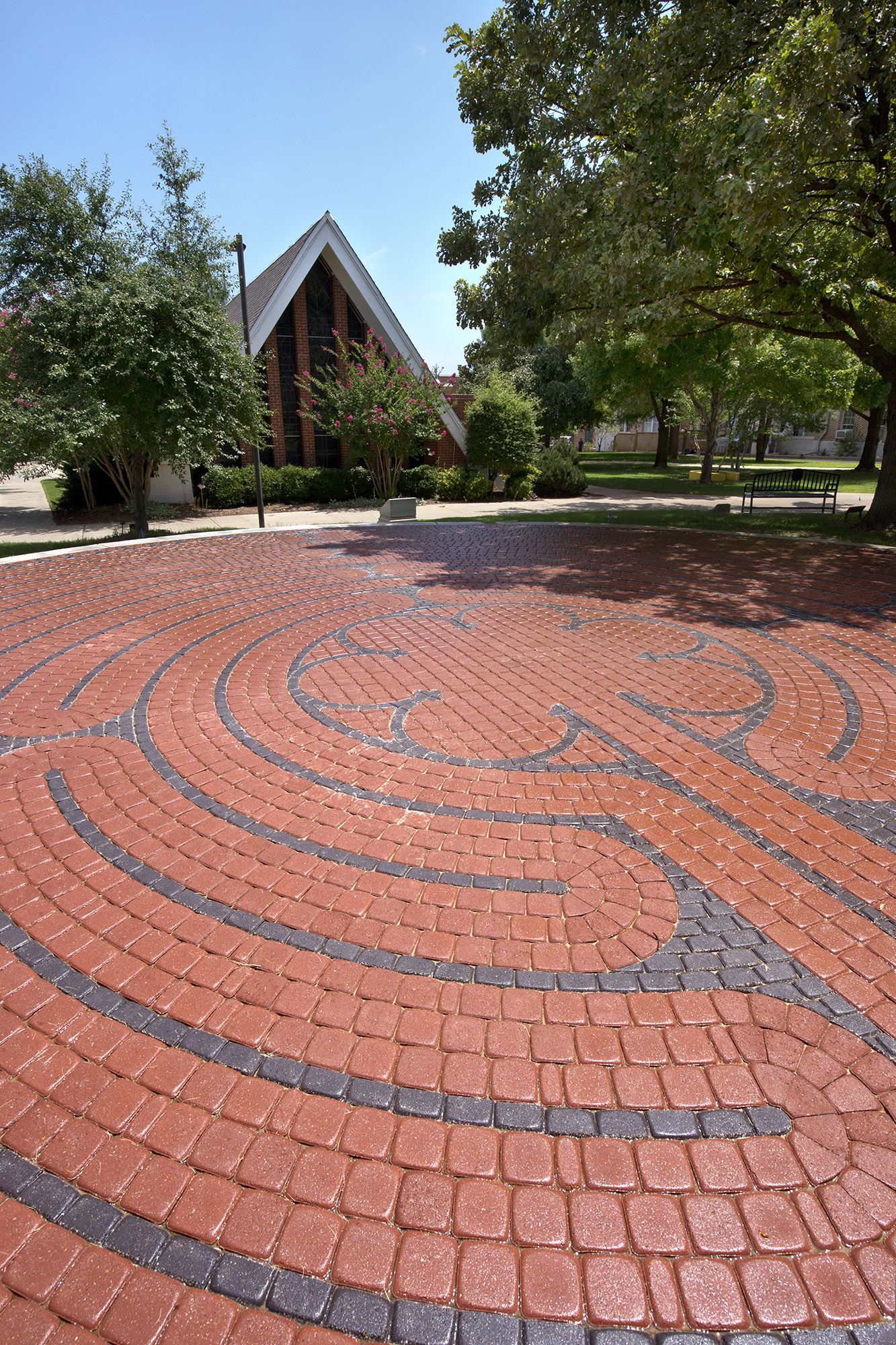The University of Central Oklahoma will dedicate its new labyrinth at a public ceremony at 2 p.m. Sept. 6.