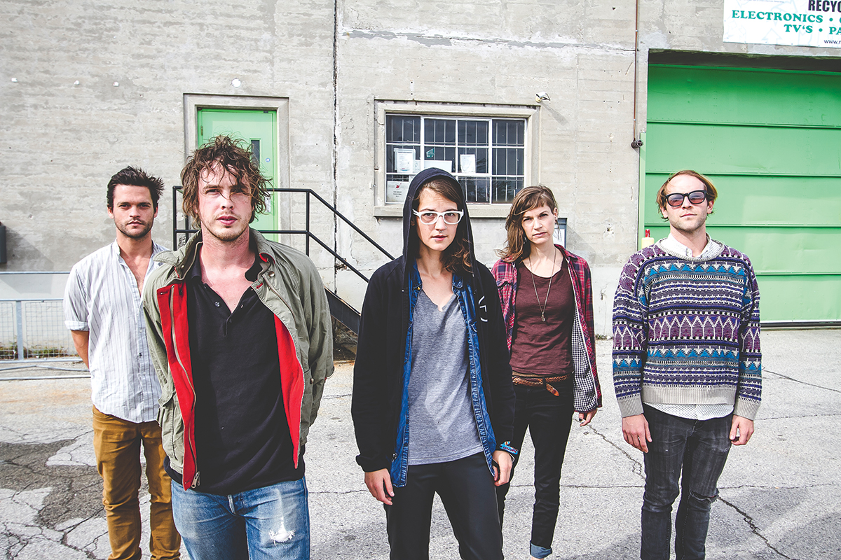 BRONCHO, indie rock band based in Norman, will headline the AT&T main stage at the ACM@UCO Metro Music Fest. The festival begins at 3 p.m., Friday, April 10.