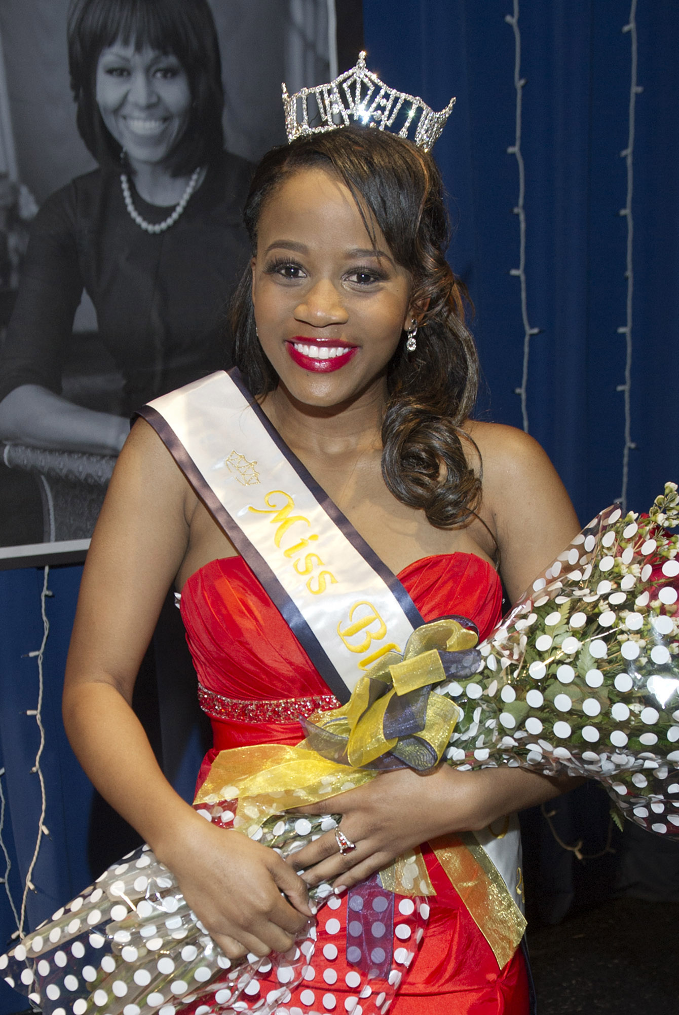 Boikgapo Bolelang, a junior forensic science and criminal justice major from Botswana, was crowned Miss Black UCO 2014 during the 30th annual pageant held on Central's campus, Saturday, Feb. 8.
