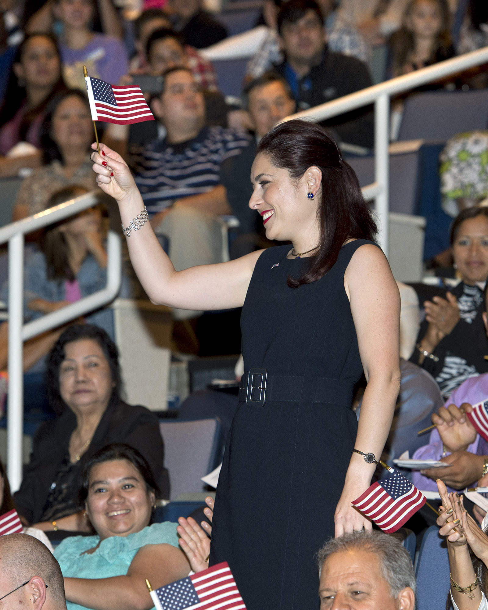 The University of Central Oklahoma hosted a naturalization ceremony Friday, Sept. 28 for 125 new American citizens from 33 countries.
