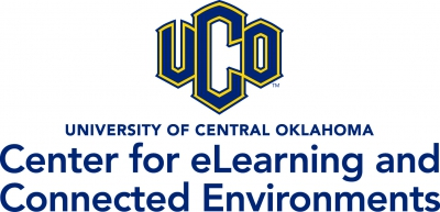 UCO Center for eLearning and Connected Environments logo