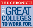 2017 Great College to Work For logo