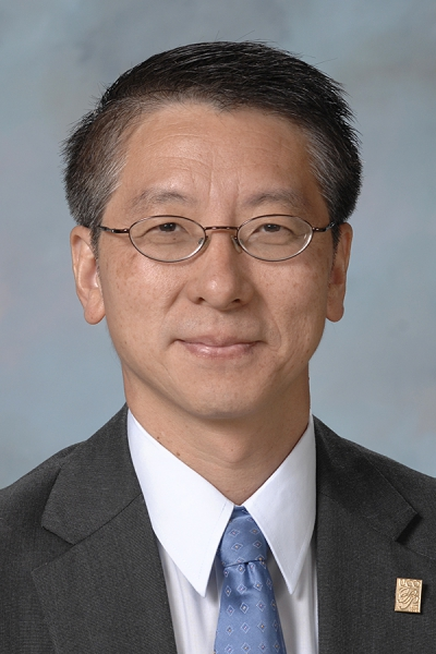 Headshot of UCO College of Mathematics and Science Dean Wei Chen, Ph.D.