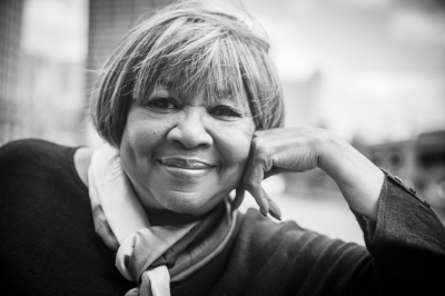 A portrait of Mavis Staples