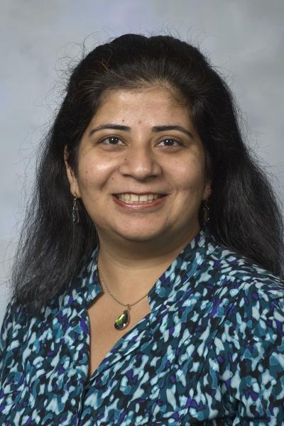 Headshot of Kanika Bhargava, Ph.D., associate professor in the Human Environmental Sciences Department at the University of Central Oklahoma.