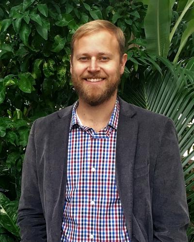 Headshot of Eric Eitrheim, Ph.D.