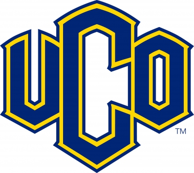 Official Mark of UCO on a white background